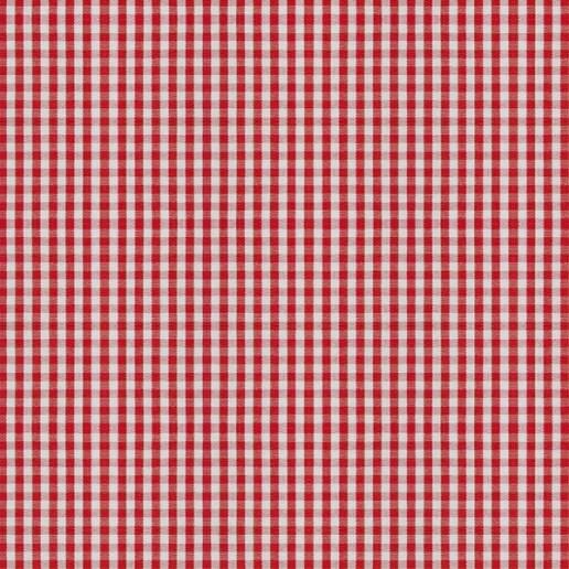 Camicia quadro stretto rosso