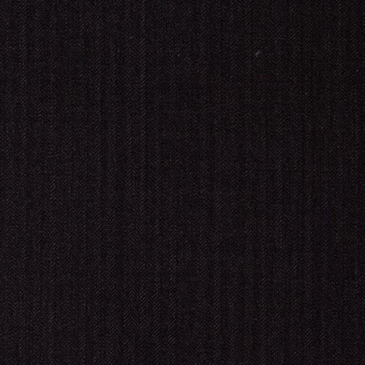 Abito classico spigato grigio scuro