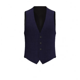 Gilet Luxury Blu Medio