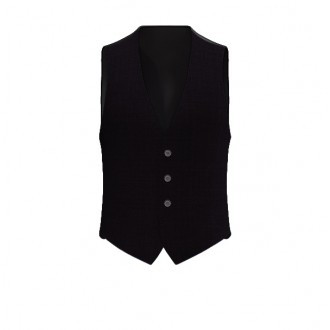 Gilet Luxury Blu Black