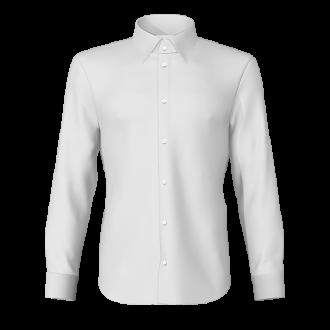 Camicia popeline bianco