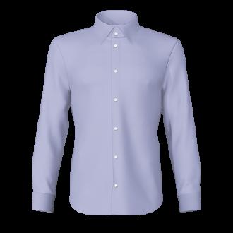 Camicia Oxford celeste
