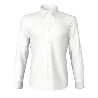 Camicia twill bianco