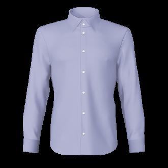 Camicia popeline celeste Milano Pop