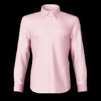 Camicia popeline rosa