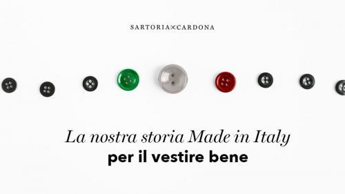 LA NOSTRA STORIA MADE IN ITALY PER IL VESTIRE BENE