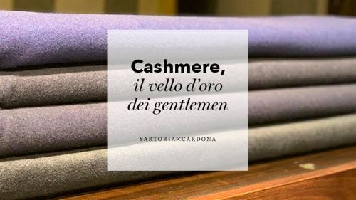 Cashmere, il vello d'oro dei gentlemen