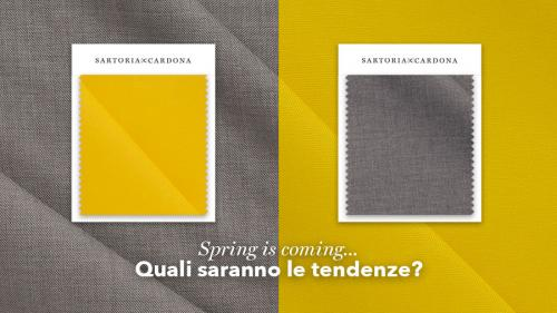 Spring is coming... Quali saranno le tendenze?