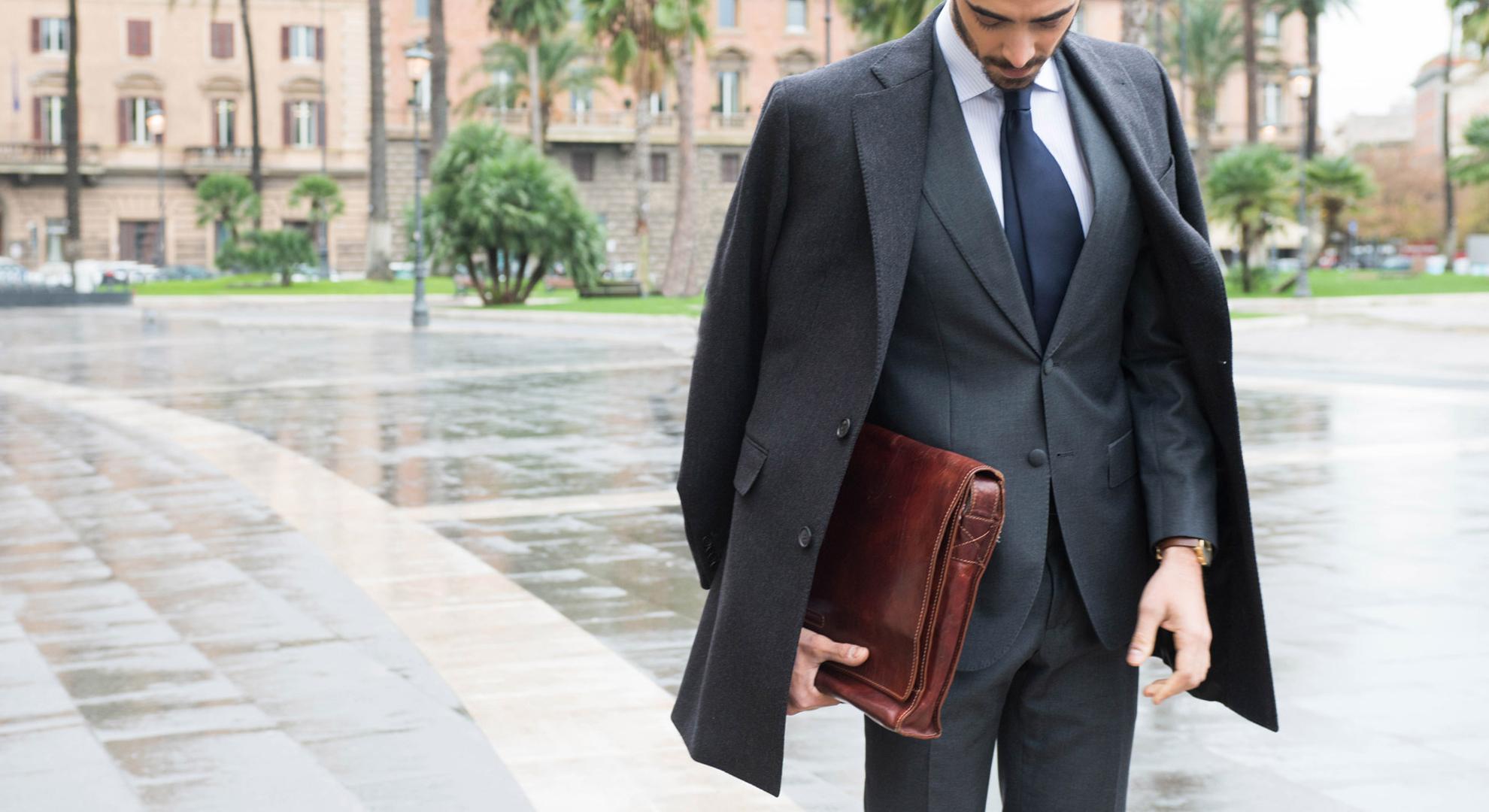 Cappotti sartoriali su misura online da uomo Made in Italy